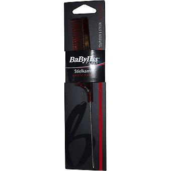 BaByliss Pin Tail Kamm Brown