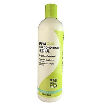 Devacurl one condition original daily hair conditioner 12 oz
