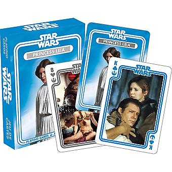 Star wars - princess leia playing cards