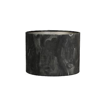 Light & Living Cylinder Shade 25x25x18cm Marble Anthracite