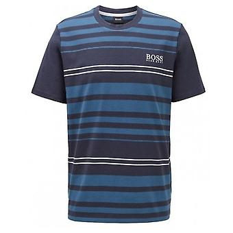 Hugo Boss Leisure Wear Hugo Boss Men's Striped Fashion T-shirt