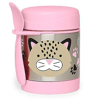 Skip Hop Zoo Insulated Food Jar, Leopard