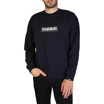 Napapijri Original Men Fall/Winter Sweatshirt - Blue Color 36177