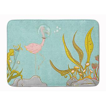 Flamingo sous-marin tapis de mousse mémoire lavable Machine #2