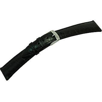 Morellato black leather strap 20 mm red A01U0751376019CR20 LIVERPOOL man