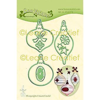 LeCrea - Lea'bilitie Christmas ornam. Cut and Embossing Die 45.6173 Combi