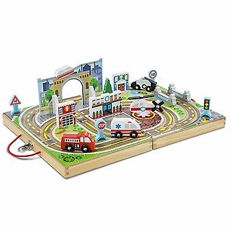 Melissa & Doug Take-along Tabletop - Stadt