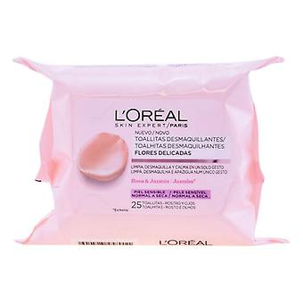 Make Up Remover Wipes L'Oreal Make Up/25 Units