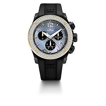 Edox Uhren Class-1 Damenuhr Chronolady 10411 37NR120D NANN