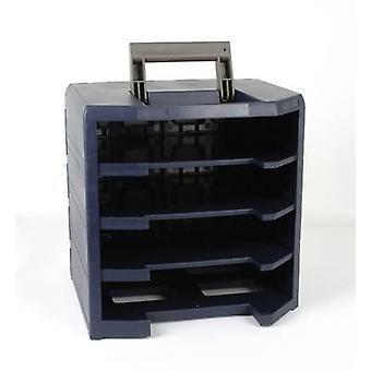 raaco HandyBoxxser Box rack (W x H x D) 347 x 342 x 305 mm No. of compartments: 4 1 pc(s)