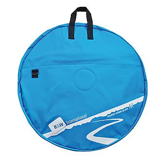 B&W Double Wheel Guard M Wheel Bag, Blu