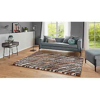 Allure 104400 Life Brown Cream  Rectangle Rugs Modern Rugs