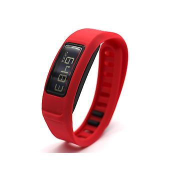 Replacement Wristband Bracelet Band Strap for Garmin Vivofit 2[Large,Red] BUY 2 GET 1 FREE Supplier 18