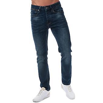 Män & apos; s Luke 1977 Freddie Fast Jeans i blått