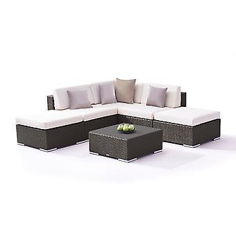 Polyrattan Seating Group Sofia - antracyt