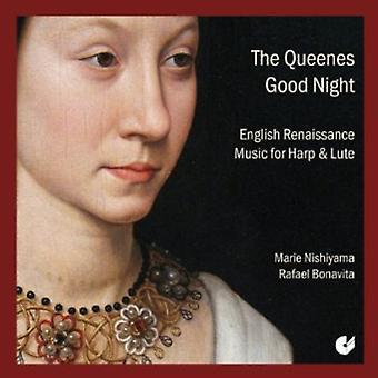 Dowland/Johnson/Robinson/Allison - The Queenes Good Night: English Renaissance Music for Harp & Lute [CD] USA import