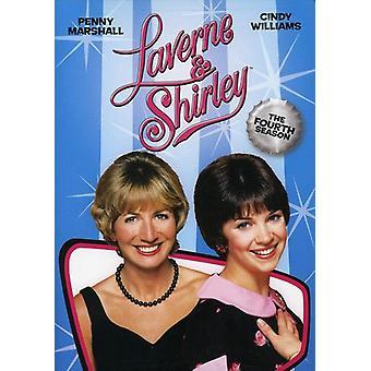 Laverne & Shirley - Laverne & Shirley: Season 4 [DVD] EUA importar