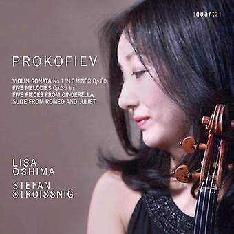 Prokofiev / Stroissnig / Oshima - Violin Sonata No.1 & Five Melodies [CD] USA import