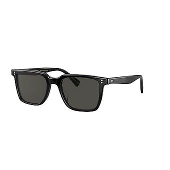 Oliver Peoples Lachman Sun OV5419SU 1005P2 Black/Midnight Express Polarised Sunglasses