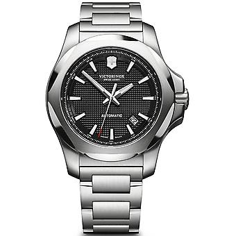 Victorinox Stainless Stainless Steel Automatic Analog Men's Watch with Stainless Steel Bracelet V241837