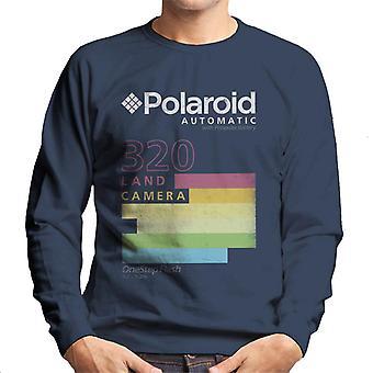Polaroid automatische 320 bunte Streifen Männer's Sweatshirt