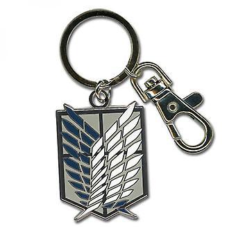 Angriff auf Titan Scouts Regimenter Emblem Schlüsselanhänger