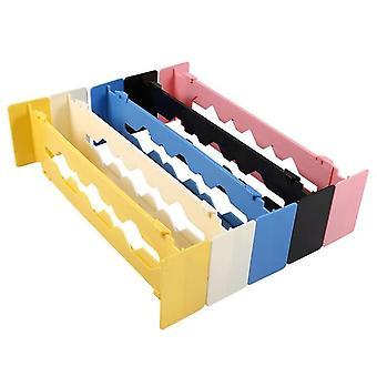 Separator sertar și separatoare - Organizator de stocare a partiției Clapboard pentru garderobă reglabil