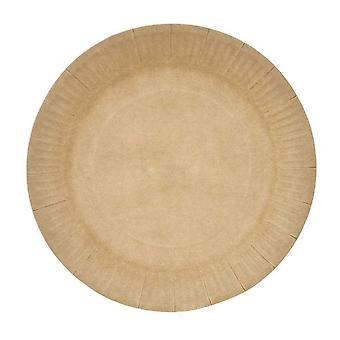 40PCS Disposable Paper Plate Party Decor 23x23cm