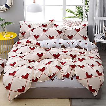 Four Seasons, Fashion Geometric Pattern - Bedding Set