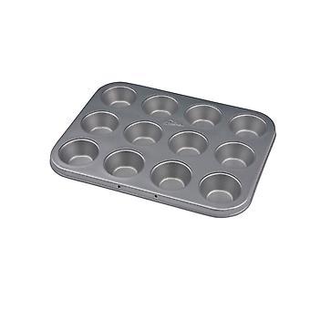 Patisse Silvertop Muffins bilden Mini Silber - 25 cm
