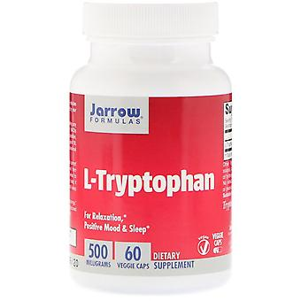 Formules Jarrow, L-Tryptophane, 500 mg, 60 Bonnets végétariens