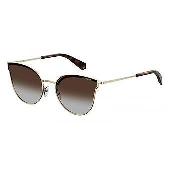 Sonnenbrille Damen  4056/S01Q/LA   Gradient Gold/Braun