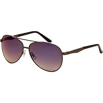 Sunglasses Unisex Pilots Mirror Glass Grey (A-Z7230)