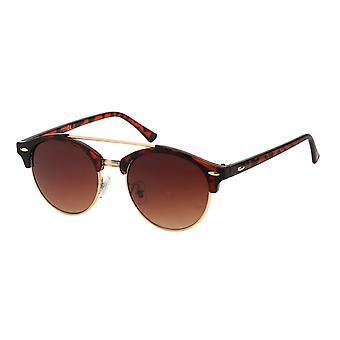 Gafas de sol Caminante de mujer marrón/ resbaladizo/ naranja (20-158)