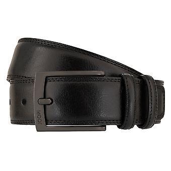 Joop! Bältets bälte läderbälte nötas Svart 5939