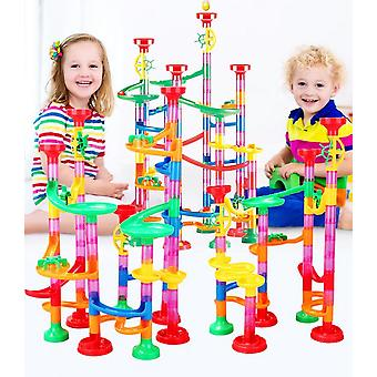 109pcs Diy Ball Track Construction Child Building Blocks Jouets Développement Jouets