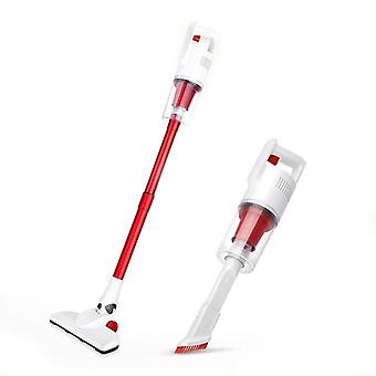 3 in 1 stick with hepa filter cordless usb vacuum cleaner for home hard floor car pet (white)