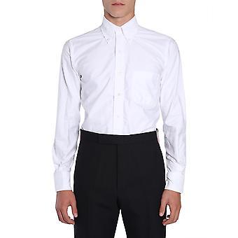 Thom Browne Mwl010e00139100 Heren's White Cotton Shirt