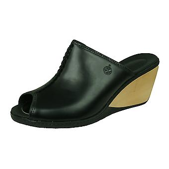 Timberland Lascaux Slide Donna Cuneo Sandale / Mules - Nero