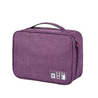 Portable Multifunctional Digital Storage Bags Organizer For Travel