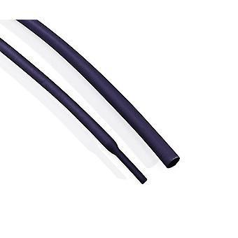 5 metriä / erä musta lämmön kutistusputki (0,8mm-15mm)