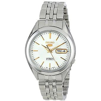 Seiko 5 Gent Watch SNKL17K1 - Stainless Steel Gents Automatic Analogue