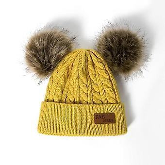 Reakids Beanies Baby Hat- Pompon Winter Hat, Gebreide Cute Cap / Casual Hat