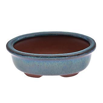 Pots de fleurs chinois de bonsaï en céramique pour les plantes vertes de fleur