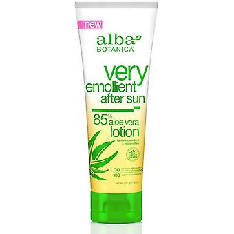 Alba Botanica Very Emollient After Sun Lotion 85% Aloe Vera, 8 oz