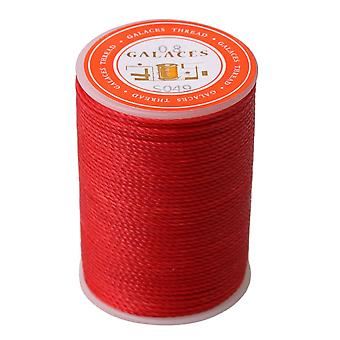 0.8mm Dia Red Cired Fil Cord Handing Leather Craft Couture Couture