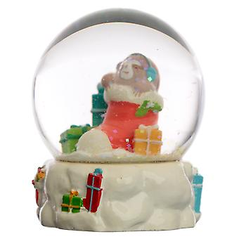Collectable Chritmas Sloth Snow Globe Waterball