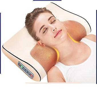 Electric Massage Pillow - Infrared Heating Neck, Shoulder, Back, Body
