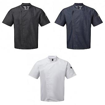 Premier Unisex Adult Short-Sleeved Chef Jacket