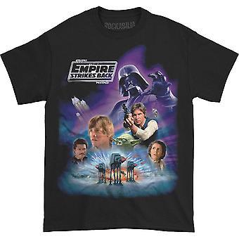 Star Wars Empire Strikes Back Montage T-shirt